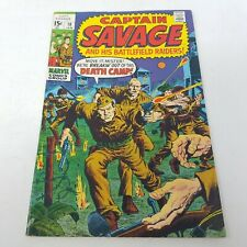Captain Savage and His Battlefield Raiders #18 Marvel Comics Group 15 cent 1969