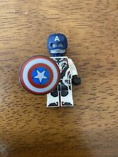 LEGO Marvel Super Heroes sh560 Captain America White Jumpsuit Good Condition