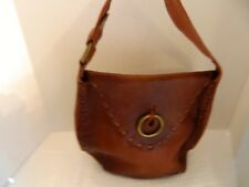 Lucky Brand Raw Leather Handbag