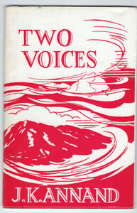 TWO VOICES J K Annand Scots poetry Signed copy vgc.