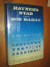 Don DeLillo RATNER'S STAR First Edition in jacket SIGNED!