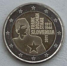 2 Euro Slowenien 2011 Franc Rozman unz.
