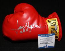 Jaime Munguia signed boxing glove, WBO, WBC, Beckett BAS
