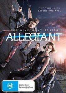 ALLEGIANT - THE DIVERGENT SERIES - DVD  - free postage