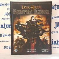 Games Workshop Fantasy Flight Games Dark Heresy Inquisitor's Handbook Hardback