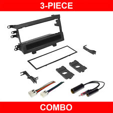 Radio Car Stereo Install Dash Kit+Harness+Antenna Adapter for 98-04 Frontier