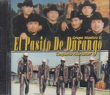 Grupo Montez El Pasito De Durango Y Conjunto Atardecer CD New Nuevo Sealed