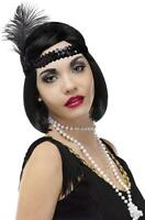 Pearl Flapper Beads 60 Inches Costume Accessory