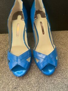 Ted Baker Royal Blue Ladies Women High heel Shoes Size 6 (39) Used