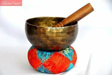 "6"" Tibetan Meditation,Singing bowl with mallets-Hand beaten bowl,Handmade Nepal"