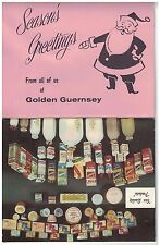 1961 Golden Guernsey Dairy Wall Calendar