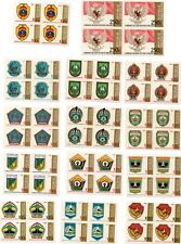 RARE 27 Province Indonesia Stamp B4 V4 1981 until 1983 Complete Coat of Arms