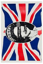 Sid Vicious & The Sex Pistols * God Save The Queen. * Promo Poster 1977