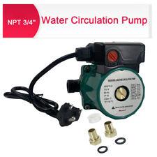 3 Speed Circulator Pump Water Recirculation Pump For Water Heater 65lm Green