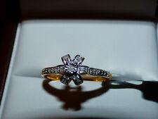 Beautiful Diamond Ring  Size S