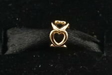 NEW Authentic Pandora 14K Gold Open Heart Spacer Charm 750454