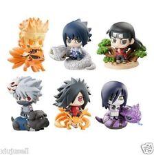 New Naruto Shippuden Kuchiyose Ninkai Taisen Dattebayo Petit Chara Land Toy 6PCS