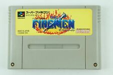 The Fire Men SNES HUMAN Nintendo Super Famicom From Japan