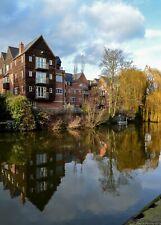 A3 Photo Print: River Wensum in Norwich, Norfolk