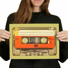 Awesome Mix Tape Poster Size A4 Retro Cassette Vintage Poster Gift #14539 A4