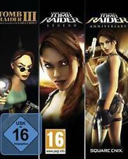 Tomb Raider Trilogy 3 III + Legend + Anniversary como nuevo