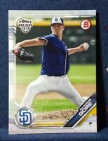 2019 Topps Holiday Bowman #TH-MG MacKenzie Gore RC San Diego Padres Rookie