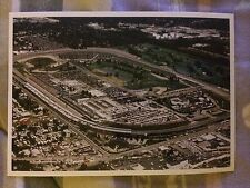 Lot of 2 Indianapolis Motor Speedway Indy 500 Postcards Birds Eye View