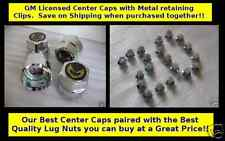 *Special - Best Quality  Bundle -Trans Am Center Caps RED & Lug Nuts Snowflake