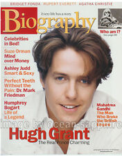 HUGH GRANT Humphrey Bogart AGATHA CHRISTIE Angie Dickinson ASHLEY JUDD magazine