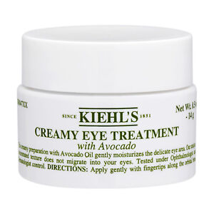 Kiehl's Creamy Eye Treatment with Avocado 14g Avocado Oil Dryness NEW #2522