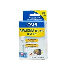 Api Ammonia 13-Test Freshwater And Saltwater Aquarium Water Test Kit