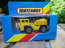 MATCHBOX MB 42 1983 GRUE MOBILE CRANE REYNOLDS Neuf boite jamais ouverte scellée