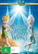 Tinker Bell Disney DVD And The Secret Of The Wings - TinkerBell Movie Fairies