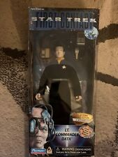 Playmates Toys Lt. Commander Data Star Trek First Contact Action Figure