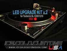 ICE COLD CUSTOMS USA /TECHNICS 1200/1210 LED KIT x 2
