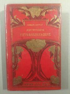 Sherlock Holmes - Aventures extraordinaires - Librairie Félix Juven - 1908 - TBE