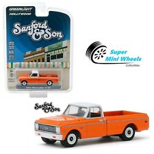 Greenlight Hollywood Sanford and Son - 1971 Chevrolet C-10 Orange