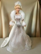 """""""Barbie"""" 2003 Winter Fantasy/Holiday Visions Doll & Outfit with Stand, No Box"""