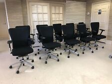 HAWORTH ZODY task office chair Fully loaded & Adjustable Arms, Polished aluminum
