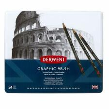 Derwent GRAPHIC PENCILS (9B - 9H) 24
