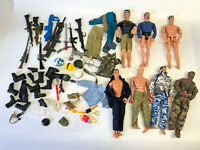 "1990's 12"" Action Man Figure Doll Weapons Accessories GI Joe M&C Formative Lot 5"