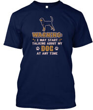 Talking To My Black And Tan Coonhound Hanes Tagless Tee T-Shirt