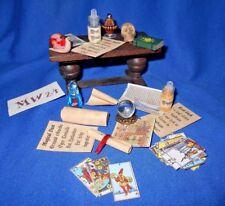 Halloween Doll House Dollhouse Tudor Fairy Witch Wizard Haunted Magic MW24