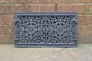 44.5 x 24.5 cm cast iron fire door clay / bread oven doors pizza stove fireplace