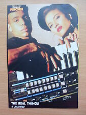 2 UNLIMITED - The Real Things - Lyric Card