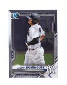 2021 Bowman Baseball Chrome JASSON DOMINGUEZ New York Yankees Mint #13