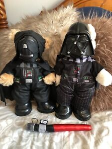 Pair of build a bears in star wars outfits (BAB)