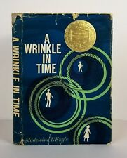 A Wrinkle In Time~Madeline L'engle~Hc/Dj~1963~1st Edition 2nd Printing RARE