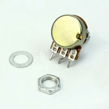 10 Pcs High Quality B10K Linear Potentiometer 15mm Shaft With Nuts And Washers
