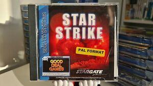 Star Strike Sega Mega Cd Rare